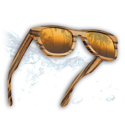 Petty Badspade Eyewear Sunglasses that float on water
